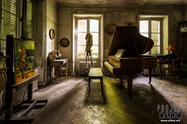 12. Pleyel Grand Piano