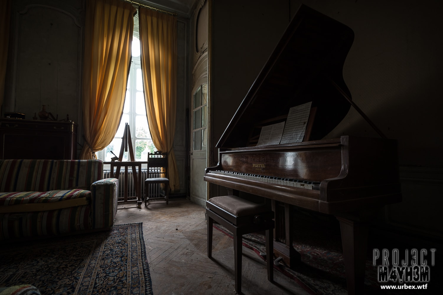 16. Pleyel Grand Piano