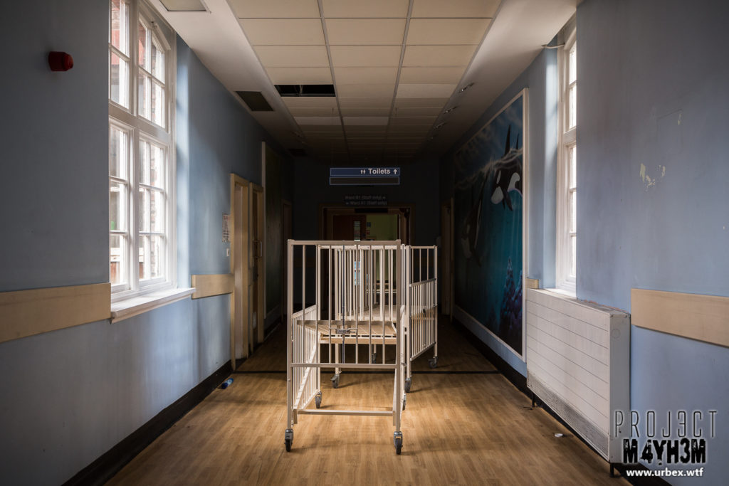 Alder Hey Children's Hospital Corridor