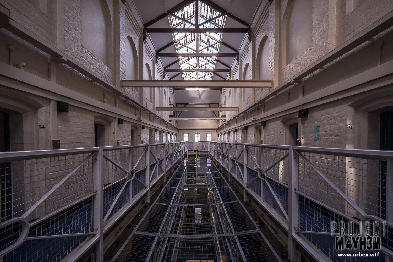 HM Prison Shrewsbury aka The Dana - Cell Block