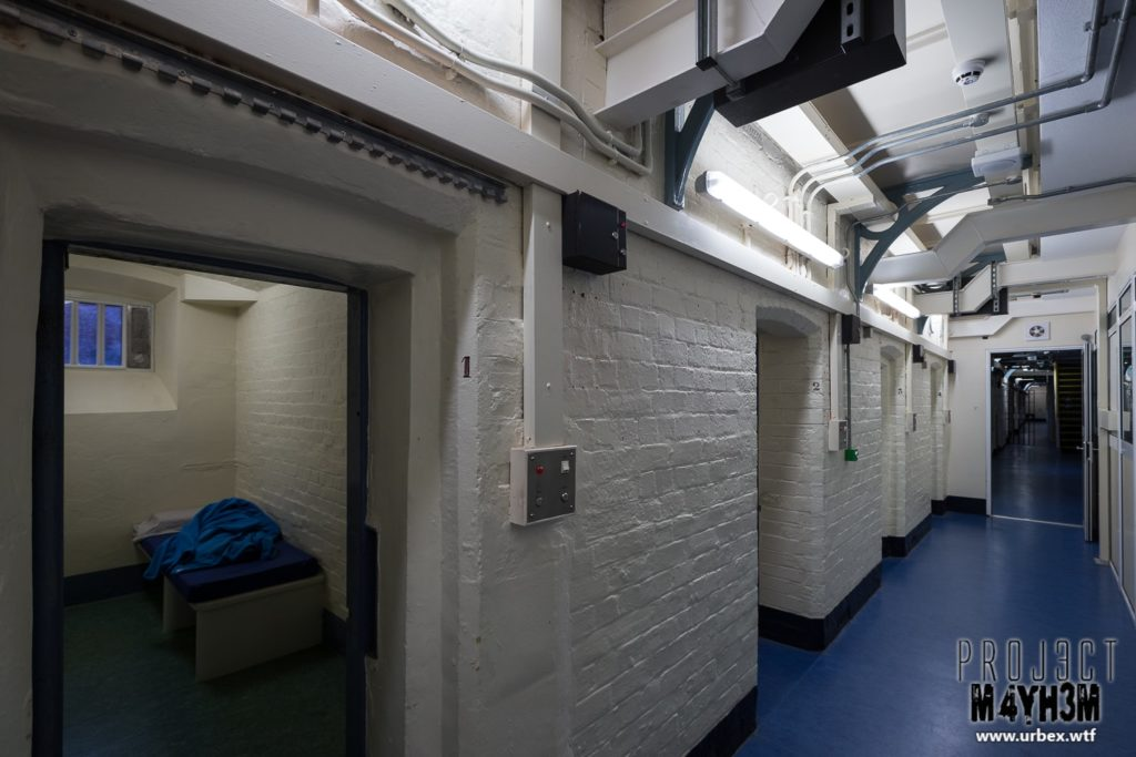 HM Prison Shrewsbury aka The Dana Cells