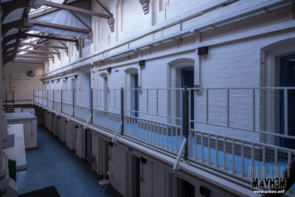 HM Prison Shrewsbury aka The Dana - Cell Block