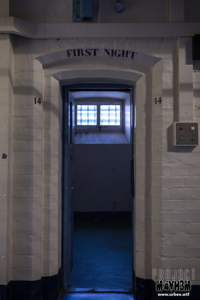 HM Prison Shrewsbury aka The Dana - First Night
