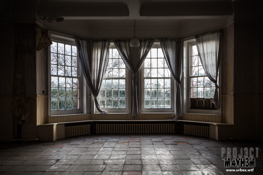 St Cadoc's Mental Hospital - Bay Window