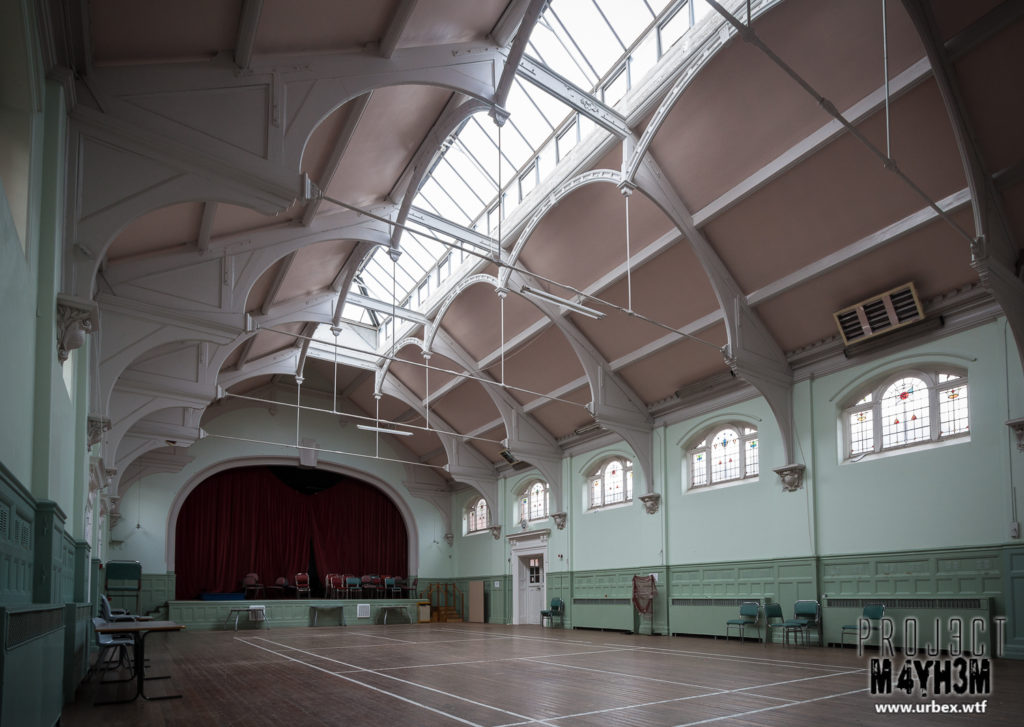 St Cadoc's Mental Hospital - Main Hall