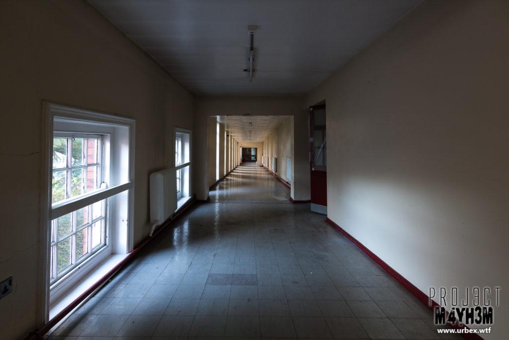 St Cadoc's Mental Hospital - Corridor