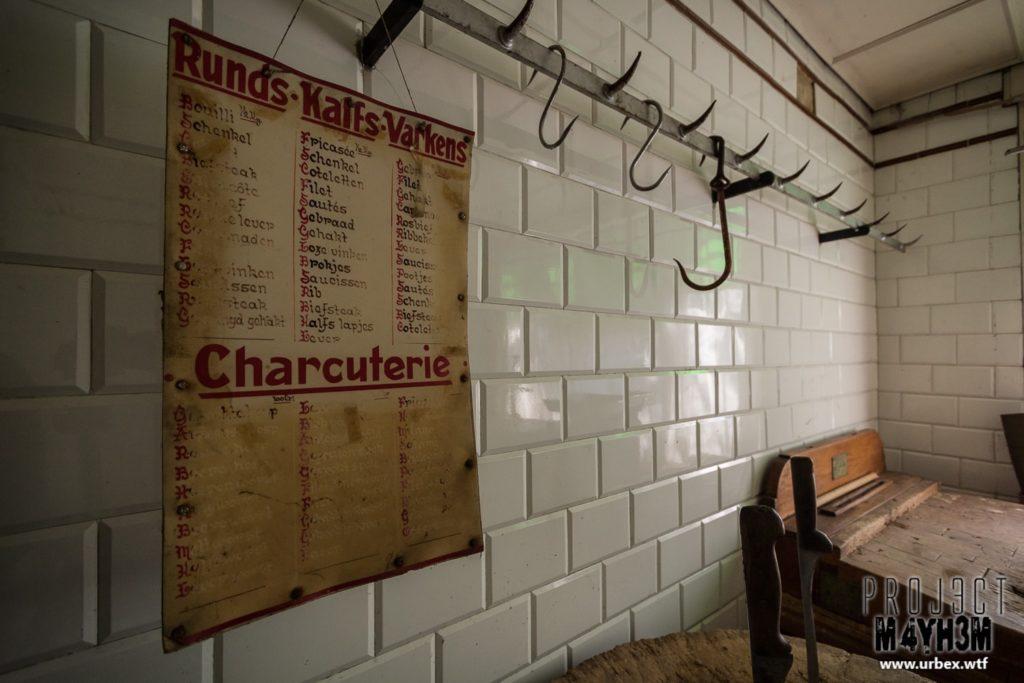 The Butchers House - Meat Hooks