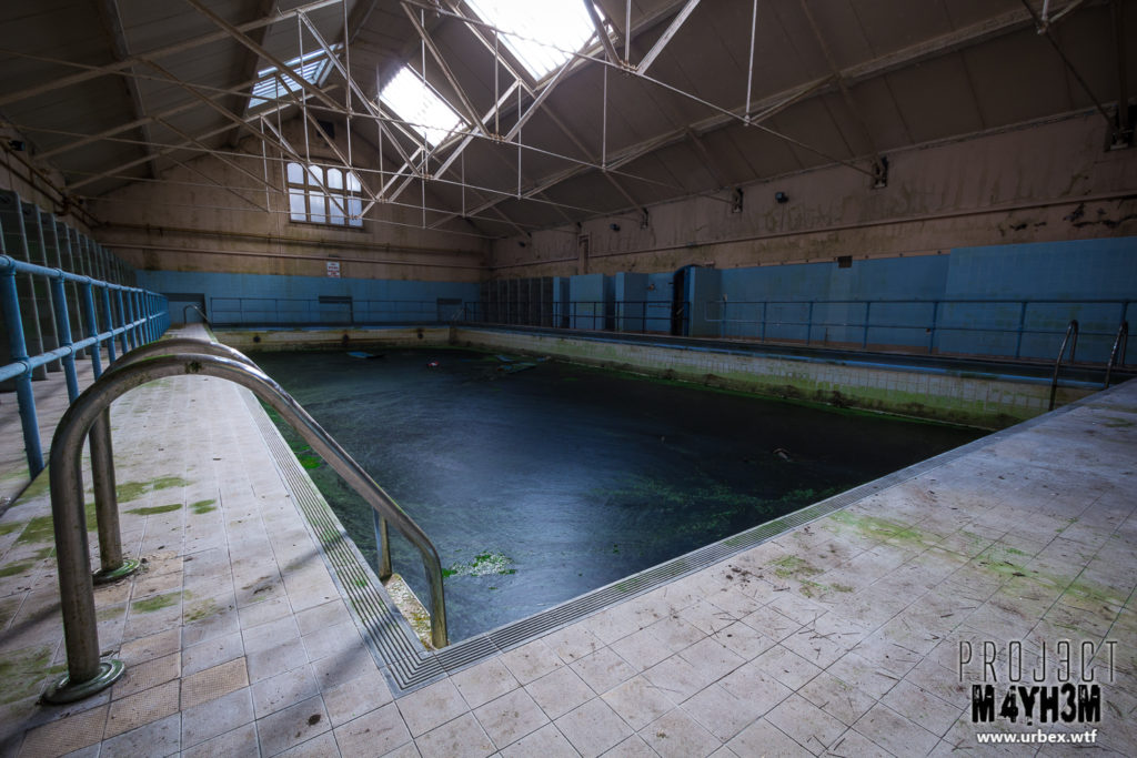 Ushaw Seminary - Pool