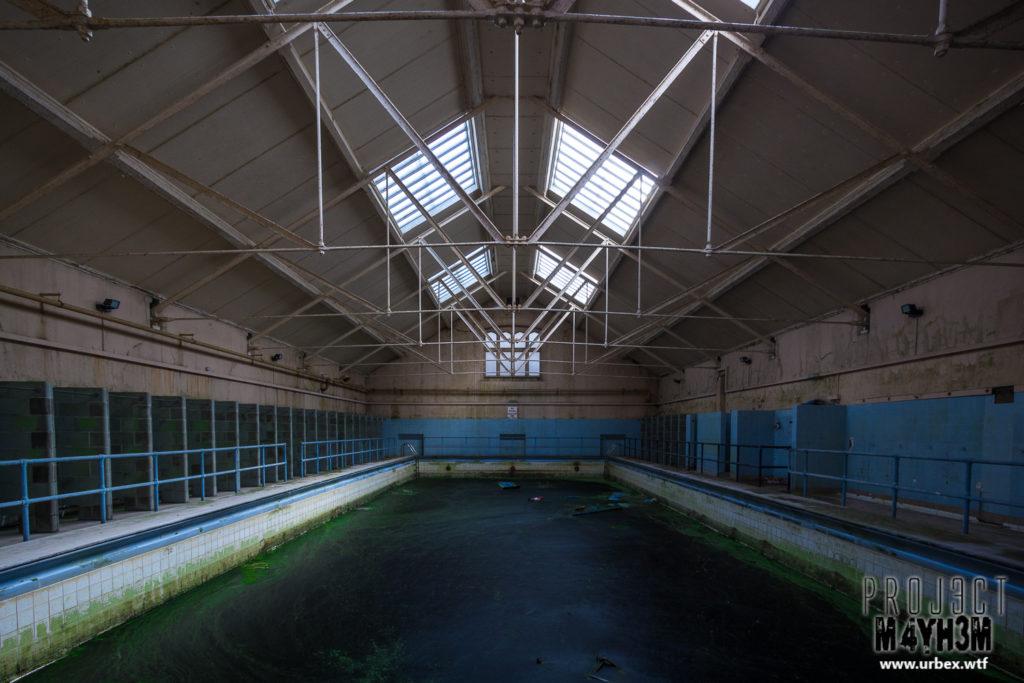 Ushaw Seminary - Pool