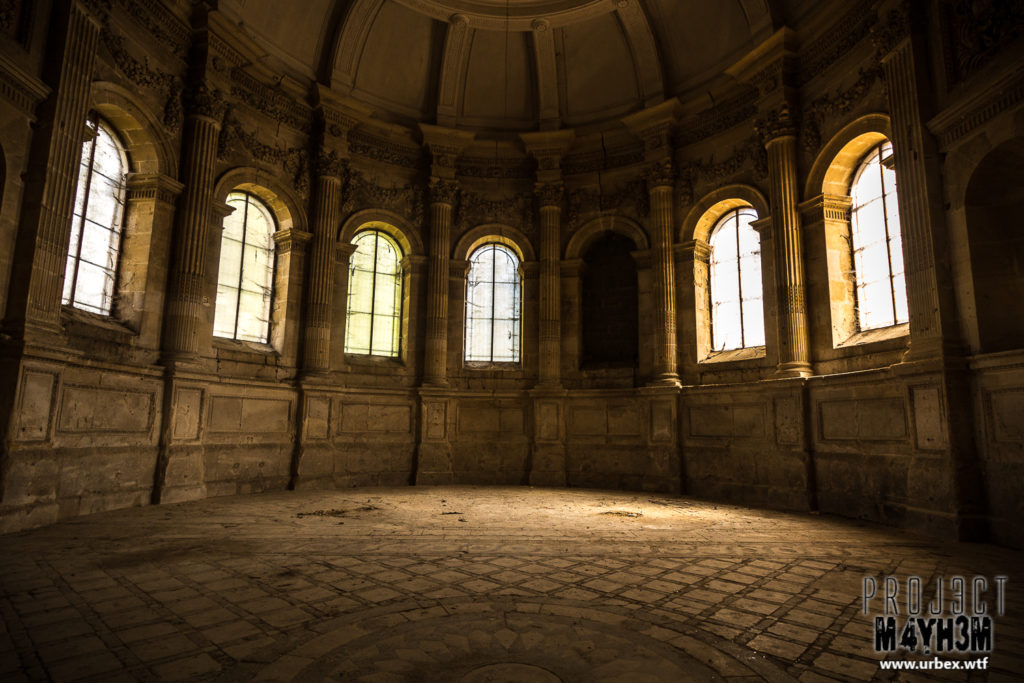Pensionnat de Chavagne - The hidden Chapel
