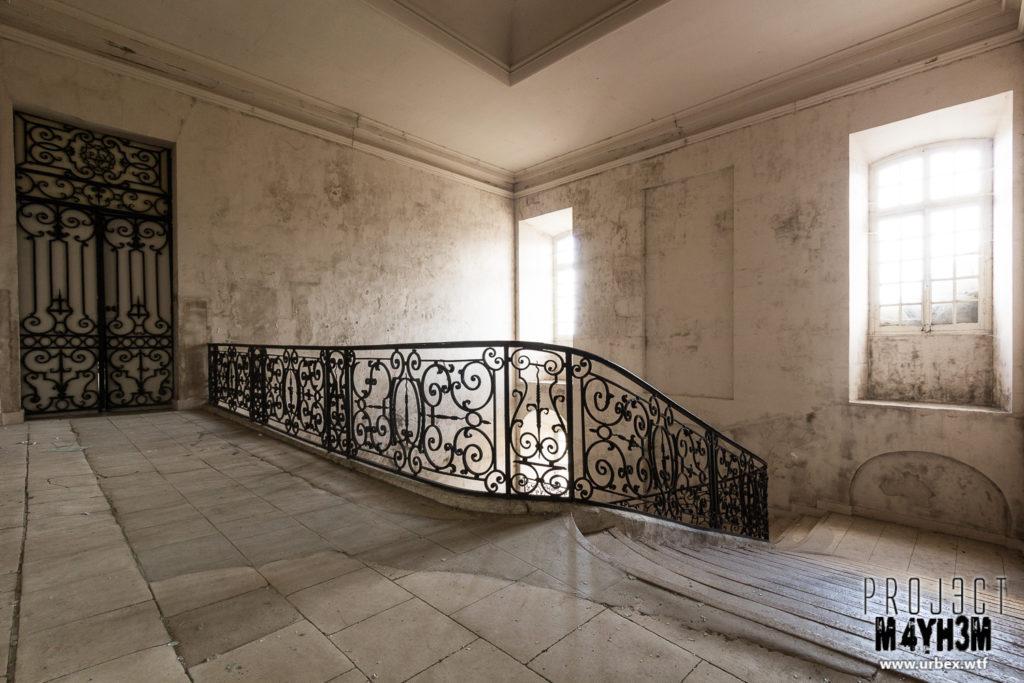 Pensionnat de Chavagne - Staircase