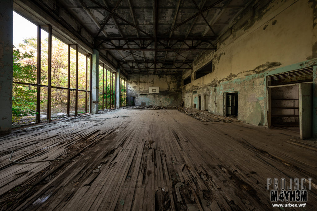 Pripyat - Basketball Court