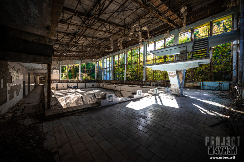 Pripyat - Swimming Pool