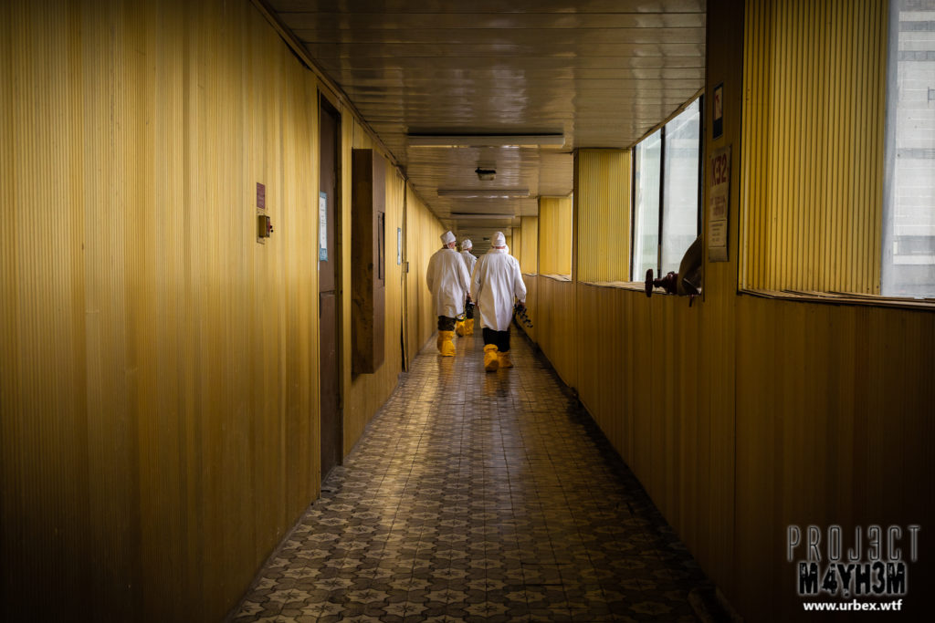 The Vladimir Ilyich Lenin Nuclear Power Plant aka The Chernobyl Nuclear Power Plant - The Golden Corridor