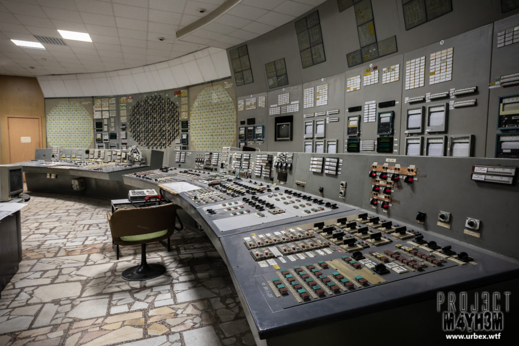 The Vladimir Ilyich Lenin Nuclear Power Plant aka The Chernobyl Nuclear Power Plant - Reactor 3 Control Room